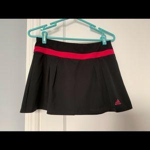 Adidas Climalite Sport Skort Black +Pink Sz Small